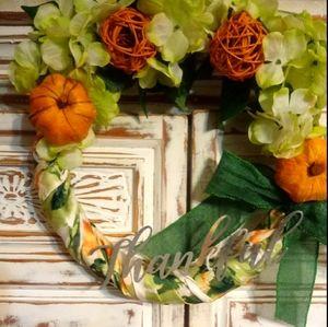 Thankful Autumn Wreath